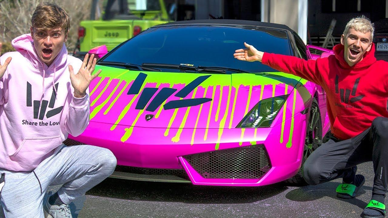 Epic Lamborghini Mod Surprised My Brother
