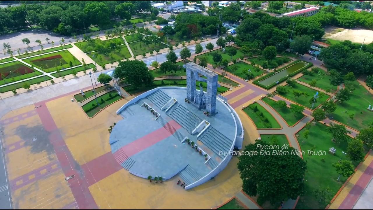 Quảng Trường Phan Rang Ninh Thuận Quê Hương Tôi | Cảnh Đẹp Ninh Thuận| Flycam 4K