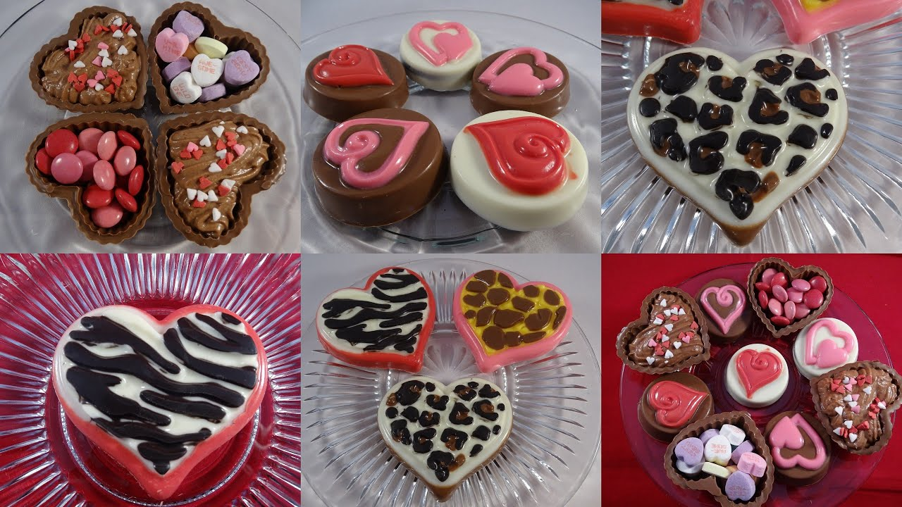 Candy Melt Demo 11 3 Wilton Valentines Day Molds Youtube