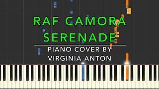 RAF CAMORA - SERENADE  - PIANO COVER - TUTORIAL