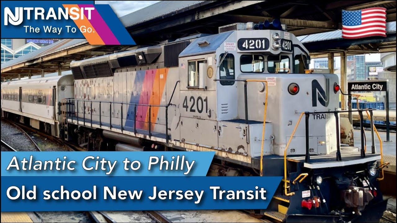 The Atlantic City Line : New Jersey Transit UNIQUE service
