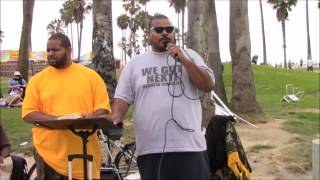 WGN: 08.02.14 -Brother Ezekiel Bringing out the Truth on Venice Beach
