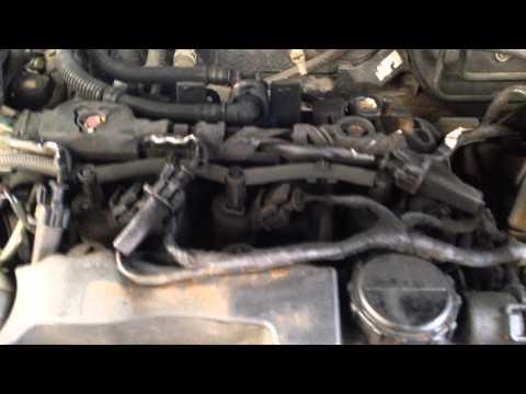 Fogueo de inyector en Mazda 3 1.6 16V HDI.Motor de origen PSA.