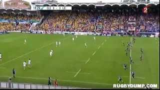 Tries in Europe 2011 2012 semi final Clermont - Leinster