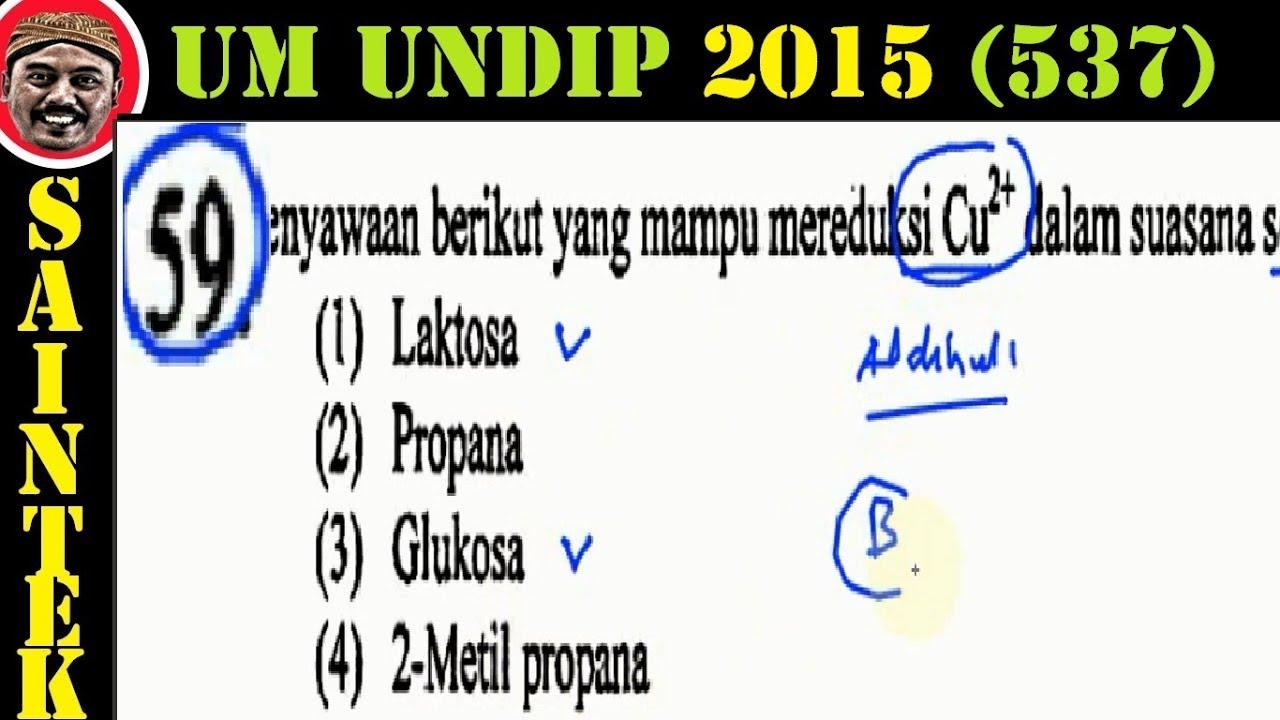 UM UNDIP 2015 Kode537, Kimia, Pembahasan No 59, Senyawa