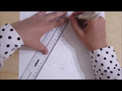 How to draw an Islamic geometric pattern #1 | زخارف اسلامية هندسية