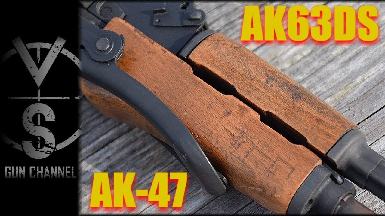 AK63DS Hungarian Under-Folder AK-47