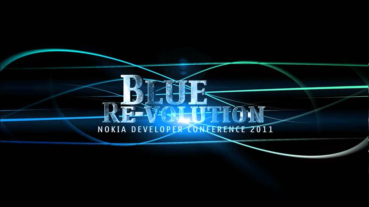 Nokia Blue Revolution Logo Animation