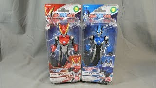 Ultraman | Ultra Action Figure - Ultraman Rosso Flame and Ultraman Blu Aqua Review