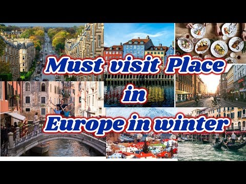10 EUROPEAN CITIES TO VISIT DURING THE WINTER