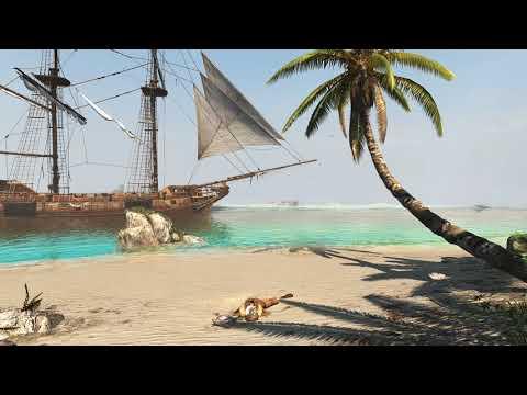 A Pirate's End - (AC Black Flag) - [Live Wallpaper] 4K