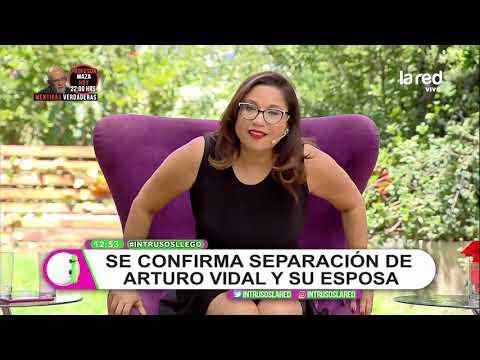 Confirmado: Arturo Vidal se separó de su esposa hace un año