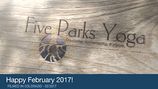 Happy February from Five Parks Yoga