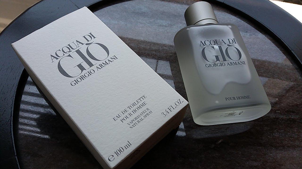 096512914 Acqua Di Gio EDT By Giorgio Armani (1996) - YouTube