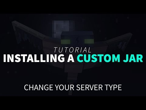 How To Install A Custom JAR On Your Minecraft Server