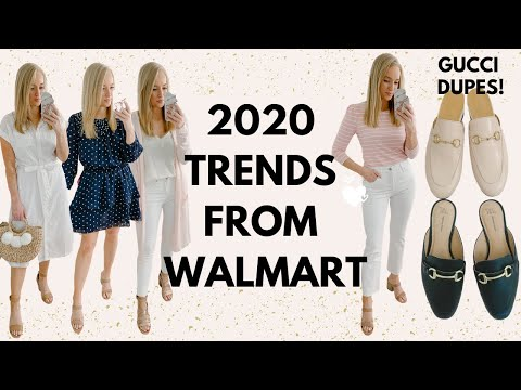 WEARABLE SPRING TRENDS FROM WALMART | AFFORDABLE TRY ON HAUL 2020 | Amanda John