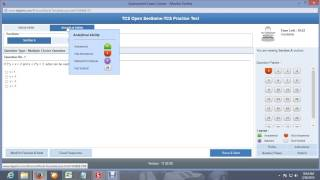 TCS online exam practice demo
