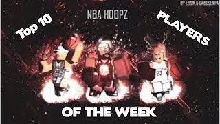 Roblox Nba Phenom Top 10 Players Of The Week #6
