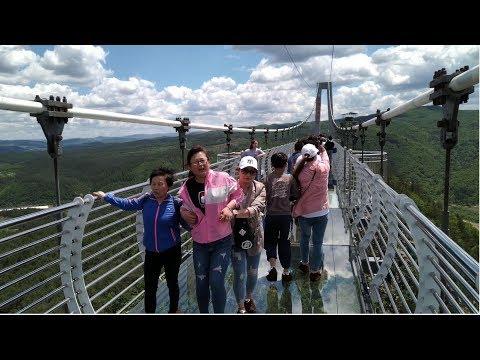 Хуньчунь Китай. День 8, Стеклянный мост и Медвежья ферма