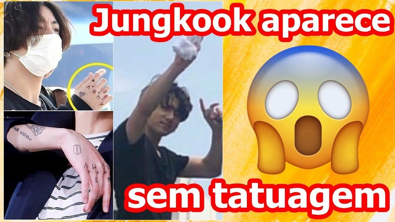 Tatuagem Do Bts: Jungkook Aparece Sem Tatuagem