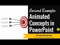 Animated Concept in PowerPoint ( 2 of 3 WITH TARGET)
