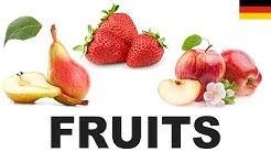 Lernen Sie englisch vokabeln - Obst 1 (Fruits)
