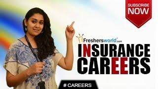 CAREERS IN INSURANCE – LIC,Graduate Jobs,Insurance companies,General Insurance,Training