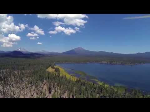 Cascade Lakes Scenic Byway Quadcopter Flight