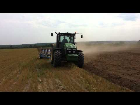 Agri 2.0 GPS Ploughing in Russia