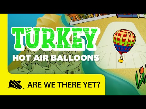 Turkey: Hot Air Balloons - Travel Kids in Asia
