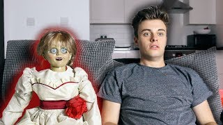 One of Joe Tasker's most viewed videos: BABYSITTING ANNABELLE!