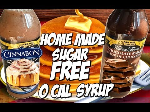 WALDEN FARMS SYRUP AT HOME | EASY HOME MADE SUGAR FREE SYRUP *VEGAN*