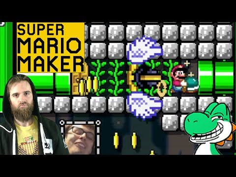 Two Dudes One Pipe | A Troll Level from Carl and Fail [SUPER MARIO MAKER]