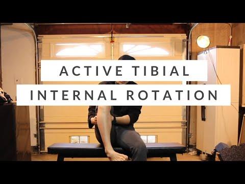 Tibial Internal Rotation Corrective Exercises