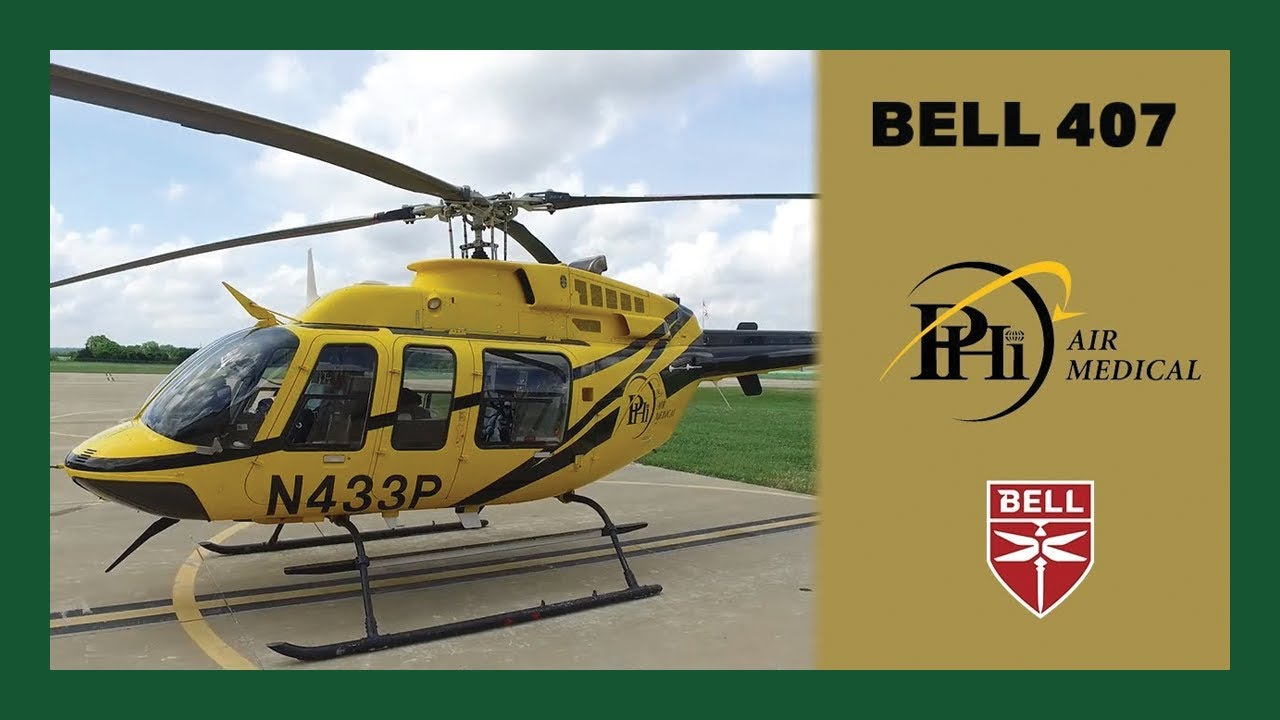 How PHI Air Medical Uses The Bell 407 to Save Lives