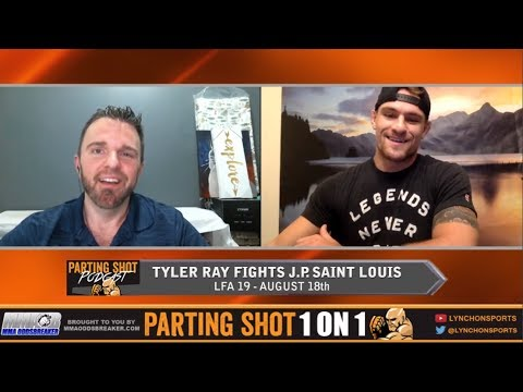 Tyler Ray talks LFA 19 fight, training w/ Robbie Lawler & post-fight Wedding