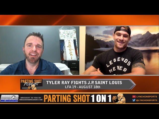 Tyler Ray talks LFA 19 fight, training with Robbie Lawler & post-fight Wedding