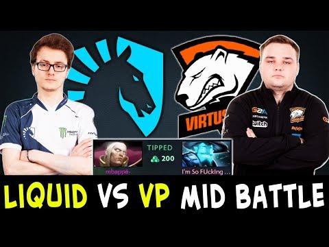 BEST mid players in Dota — Liquid.Miracle vs VP.Noone