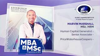 Master the ART of Success - MBA and MSc. programmes @ SBCS