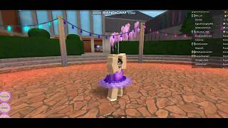 ♥Meet me on the battlefield Nightcore Ballet dance on ROBLOX FDG♥