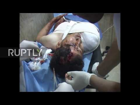 Syria: 12 reported killed and several injured in alleged gas attack