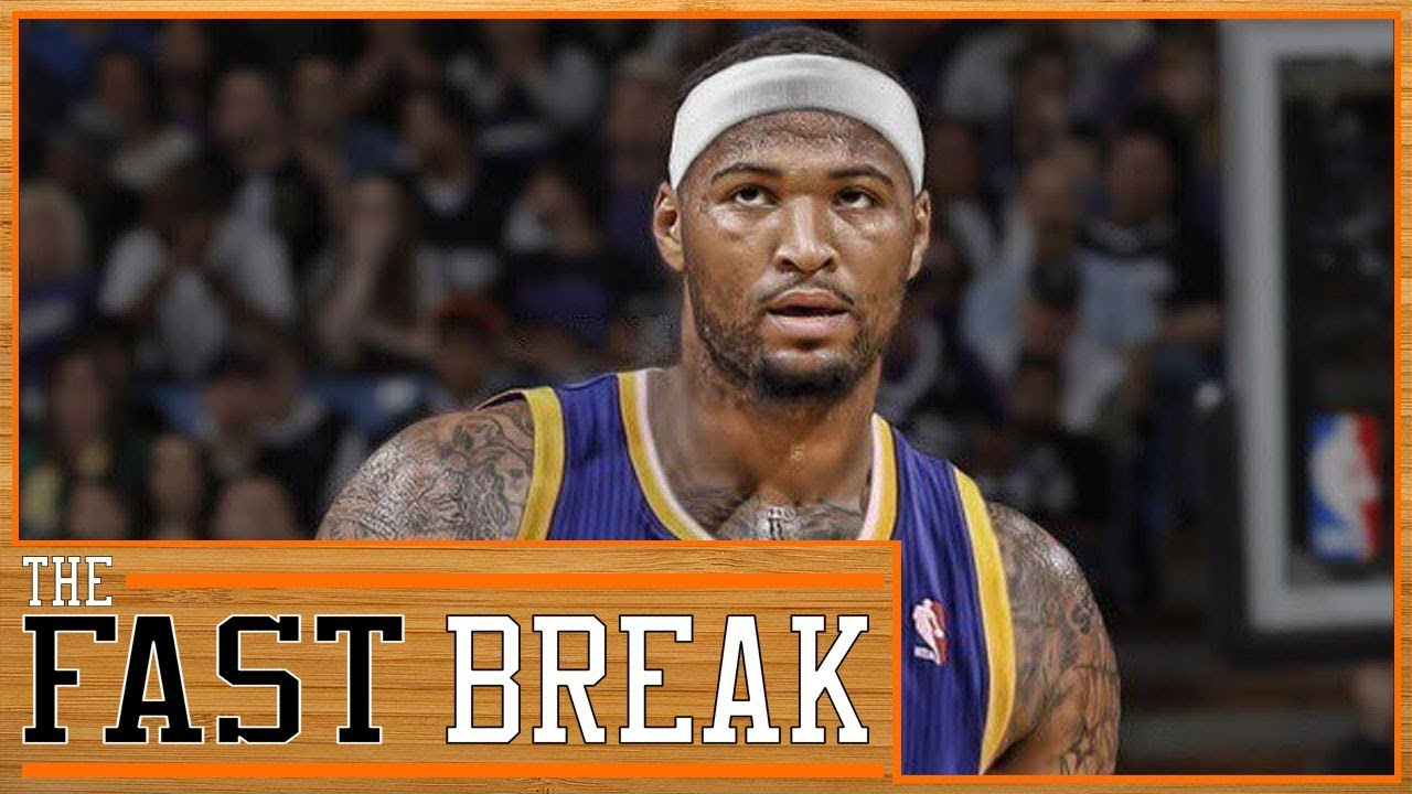 NBA Free Agency  DeMarcus Cousins Signs With The Warriors (Reaction ... 8d2ced36b
