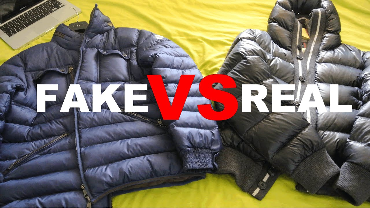 ac68d4139d FAKE VS REAL MONCLER SKI JACKET COMPARISON REVIEW    SIDE BY SIDE ...