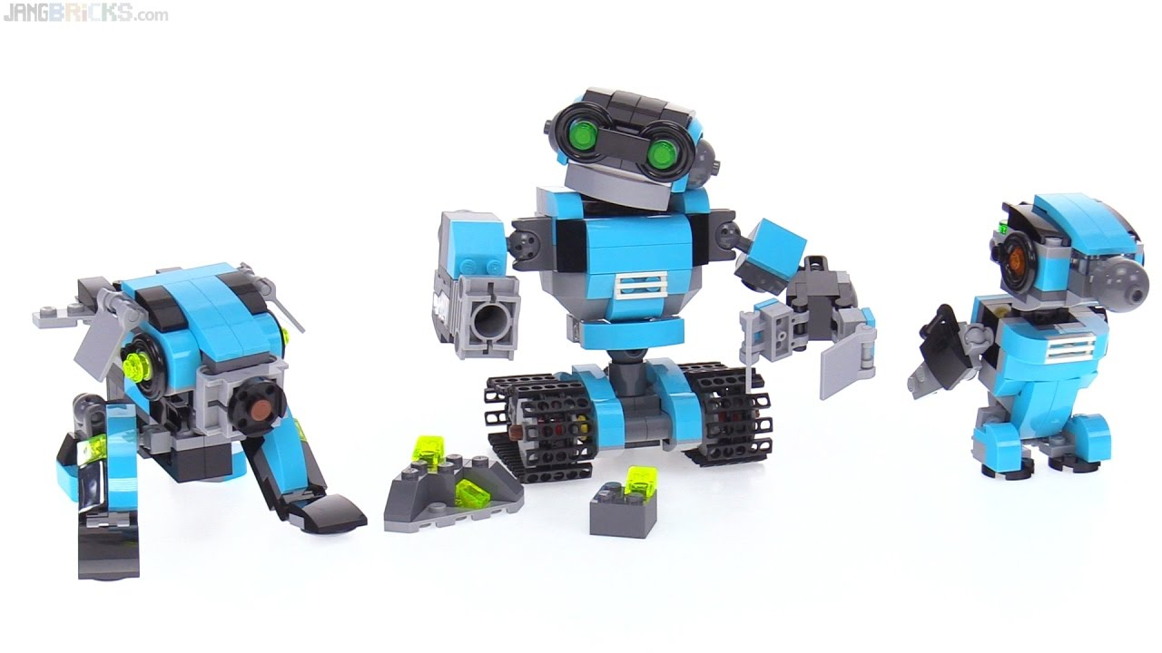 Lego Creator 3 In 1 Robo Explorer Review 31062 Youtube