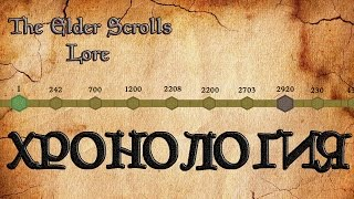 Хронология мира The Elder Scrolls | TES Лор [AshKing]