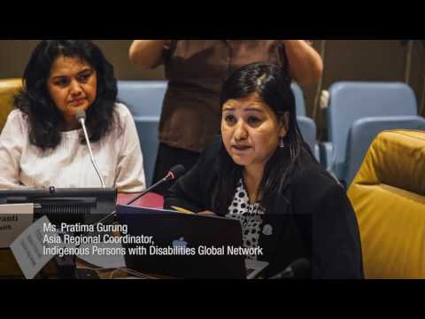 UN Conference of States Parties to the CRPD -  Ensuring No One is Left Behind