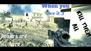 Call Of Duty '4' Game Play Video #3