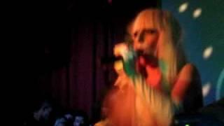 "Lady gaga ""poker face"" live @ cinespace 2008"