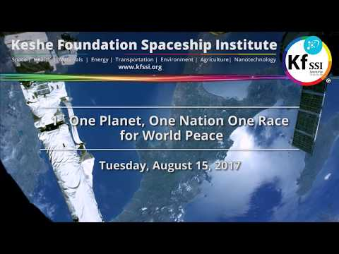 One Nation, One Planet, One Race for World Peace, Tuesday, August 15th, 2017