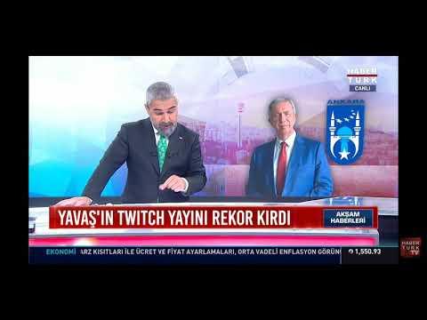 Pqueen ve Ankara B.Belediye Başkanı Mansur Yavaş habertürk haber'e çıktı